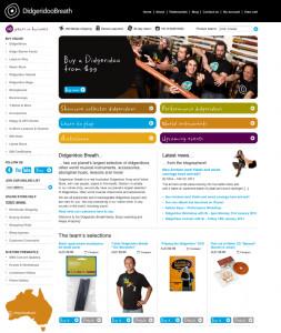 Didgeridoo Breath New Website Layout